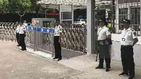 Knife-wielding man kills two boys near school in Shanghai