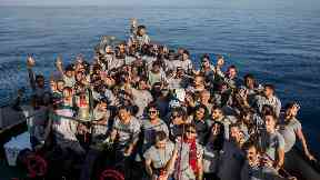 Rescue ship carrying 60 migrants arrives in Barcelona