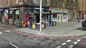 Mousetrap pub in Leith Walk, Edinburgh.