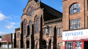 St Alphonsus Church in Glasgow