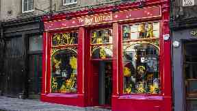 The Boy Wizard: Edinburgh branch.