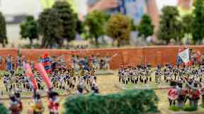 The Great Game: Waterloo Replayed tabletop game.