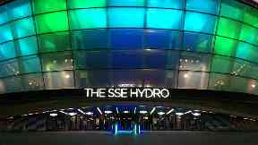 SSE Hydro: Beside SEC Centre and SEC Armadillo.
