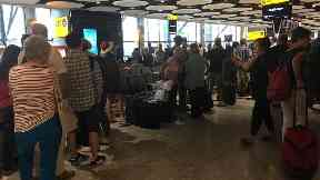 Passengers have been left delayed after IT problems at British Airways.