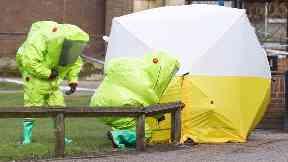 Skripal Novichok poisoning suspects 'identified'