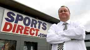 Sports Direct profits plunge 72.5% after taking hit on Debenhams stake