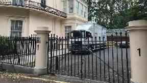 Removal van spotted outside Boris Johnson's grace and favour home