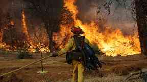 Wildfire evacuation orders in California extended to 15,000 people