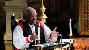 American bishop who preached at royal wedding has surgery