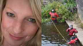 Lynn Tyeson: Divers searching to find her. Dumfries