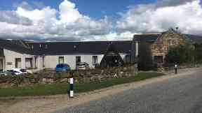 Muirhead care home, near Alford in Aberdeenshire.
