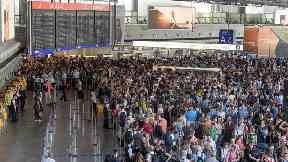 Frankfurt Airport evacuated after family not security checked