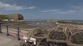 Nine-year-old girl dies in rock fall on Staithes beach