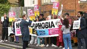 Protesters demand Boris Johnson quits in burka comments row