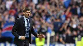 Steven Gerrard is at the end of his first season at Rangers.