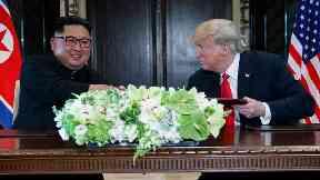 North Korea asks US to ease sanctions