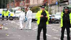 Two children among 10 injured in Manchester shooting attack
