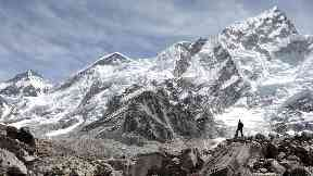 Mount Everest stock / generic