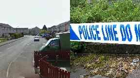 Broxburn: Streets were cordoned off. Brackensbrae