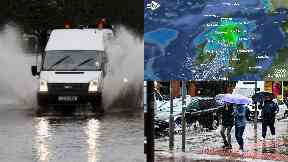 Rain: Areas including Dumfries will be affected. Scotland Storm Ernesto