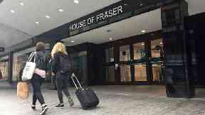 House of Fraser apologises after cancelling all online orders