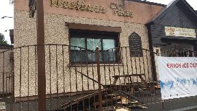 Westburn Bar: CCTV showed two men outside premises.