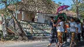 Further fatalities as more earthquakes hit Indonesian island