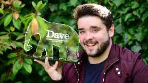 Adam Rowe: He was delighted at winning the award. Edinburgh Fringe Festival
