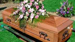 Coffin / funeral generic / stock