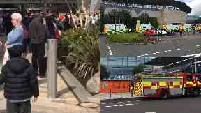 Silverburn: Shoppers were evacuated. Paint fumes Shopping Centre