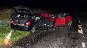 Crash: Woman pronounced dead. A952 Mintlaw Aberdeenshire