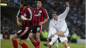 Zidane vs Leverkusen at Hampden