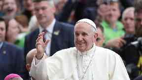 500,000 expected to attend outdoor Mass with Pope Francis