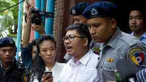 Burma postpones verdict for jailed Reuters reporters