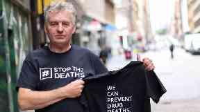 David Liddell of the Scottish Drugs Forum.