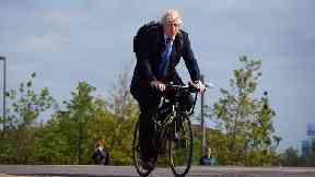 Boris Johnson is a keen cyclist.