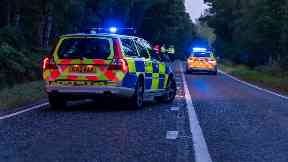 Crash: Motorcyclist pronounced dead. A98 Fochabers Cullen