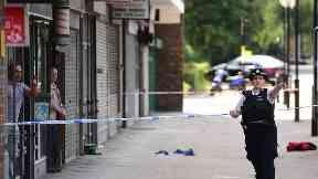 Daylight stabbing of woman on busy Islington street