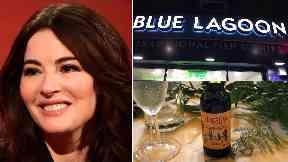 Nigella Lawson: She was in Glasgow at a wedding.
