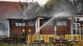 Primary school damaged by major fire on eve of new term
