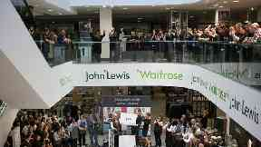 John Lewis pushes button on rebrand