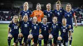 Scotland Women v Switzerland 30 Aug 2018