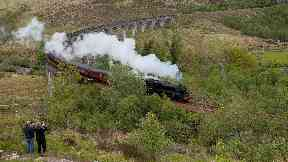 Harry Potter: Some 970 passengers were anticipating the trip. Highlands train