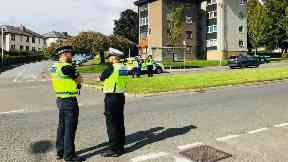 bomb threat Carlochie Place, Dundee