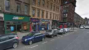 Glasgow: Both groups made off after assault. Sauchiehall Street