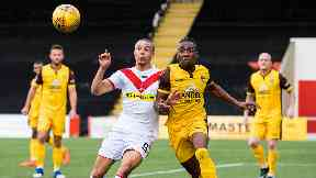 Sutton United defeated Airdrie in the second round of the Challenge Cup.