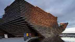 V&A: Dundee exterior