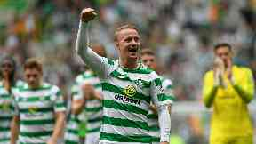 Extension: Leigh Griffiths has penned a new contract with Celtic.