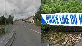 Shotts: The suspect fled after attack. Shottskirk Road