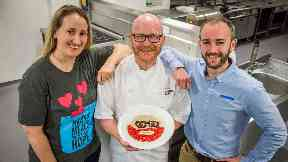 Charity: Gary Maclean has teamed up with Mary's Meals.